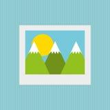 Image file design. Illustration eps10 graphic Royalty Free Stock Image