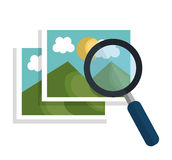 Image files design. Illustration Royalty Free Stock Photo