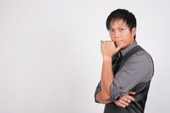 Image of a Filipino businessman Royalty Free Stock Images