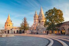 Fisherman`s Bastion, Budapest. Royalty Free Stock Images