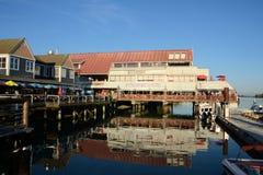 Fishermans Wharf Steveston stock photography