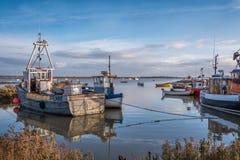 Brancaster Staithe Harbour Norfolk Stock Image