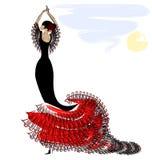Image of flamenco Royalty Free Stock Photo