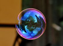Image of a Floating Bubble Royalty Free Stock Photos