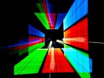 Image of fluorescence lighting Stock Photography