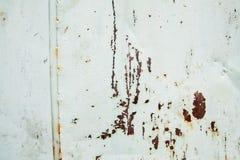 Image fortement détaillée de fond rouillé grunge en métal image libre de droits