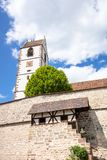 Fortified church at Bergfelden south Germany. An image of the fortified church at Bergfelden south Germany stock photos