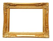 Image frame with blank white space Royalty Free Stock Photography