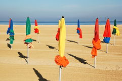 Image of France. At the Coast at Normandy (cities of Trouville and Deauville Royalty Free Stock Image