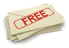 Image of free letters Stock Images