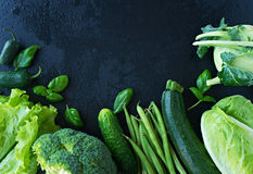 Image of fresh green vegetables Royalty Free Stock Image