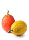 Image of Gac fruits. On white background Royalty Free Stock Photo