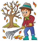 Image with gardener theme 3 vector illustration
