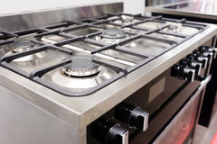Image of the gas stove Royalty Free Stock Image