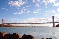 Image of George Washington Bridge at Twilight. New York. royalty free stock photo
