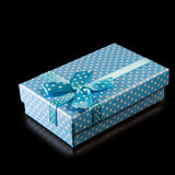 Image of gift box close-up Royalty Free Stock Images