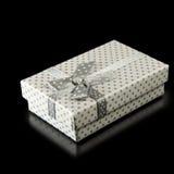 Image of gift box closeup Royalty Free Stock Images