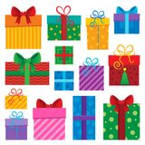 Image with gift theme  Royalty Free Stock Photo