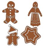 Image of ginger breads Stock Photos