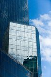 An image of a glass high rise Royalty Free Stock Photography