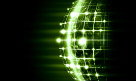 Image of globe. Green vivid image of globe. Globalization concept. Elements of this image are furnished by NASA Stock Image