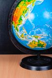 Image of globe on the toy desk Royalty Free Stock Photos