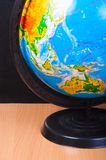 Image of globe on the toy desk Royalty Free Stock Images