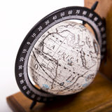 An image of a globe. Travelling the world one country at a time Stock Photos