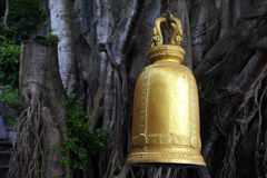 Image of golden bell in Thailand Royalty Free Stock Images