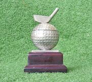 Image of golf medal or trophy