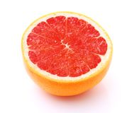 Image of grapefruit isolated on white Stock Photos