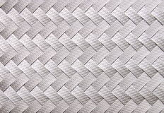 Image of gray ribbon weaved pattern Stock Photography