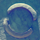 Image gray stone Stock Photography