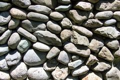 Image of gray stones in the sun Royalty Free Stock Photo