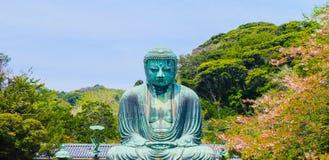 Image of Great Buddha bronze statue in Kamakura, Kotokuin Temple Stock Photos