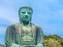 Image of Great Buddha bronze statue in Kamakura, Kotokuin Temple Stock Image