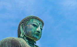Image of Great Buddha bronze statue in Kamakura, Kotokuin Temple Royalty Free Stock Images