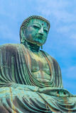 Image of Great Buddha bronze statue in Kamakura, Kotokuin Temple Royalty Free Stock Images