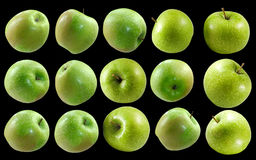 Image of green apples close-up Royalty Free Stock Image