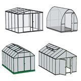 Image of greenhouse building Royalty Free Stock Photos