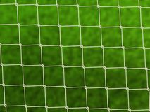 Grid with green grass field. Image of Grid with green grass field Royalty Free Stock Photography
