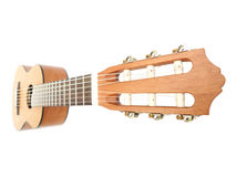The image of a guitar. Under a white background Stock Photo