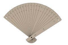 Image of hand fan Stock Photo