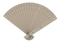 Image of hand fan Stock Photo