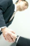 Image of a handshake between two business men Royalty Free Stock Image