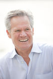 Image of a handsome man smiling Stock Photography