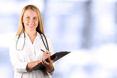 Image of happy doctor  looking at camera Stock Photography