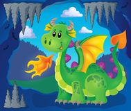 Image with happy dragon theme 3 Stock Images
