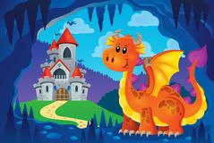 Image with happy dragon theme 6 Stock Images
