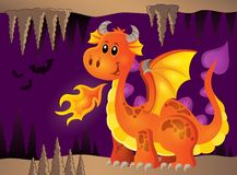 Image with happy dragon theme 8 Stock Images